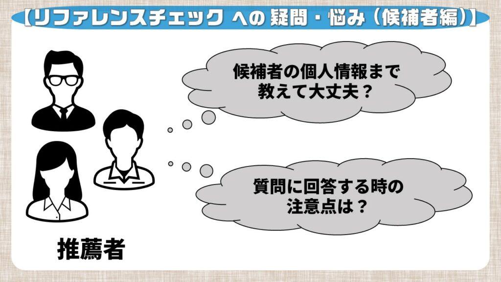 リファレンスチェックへの疑問・悩み_推薦者編